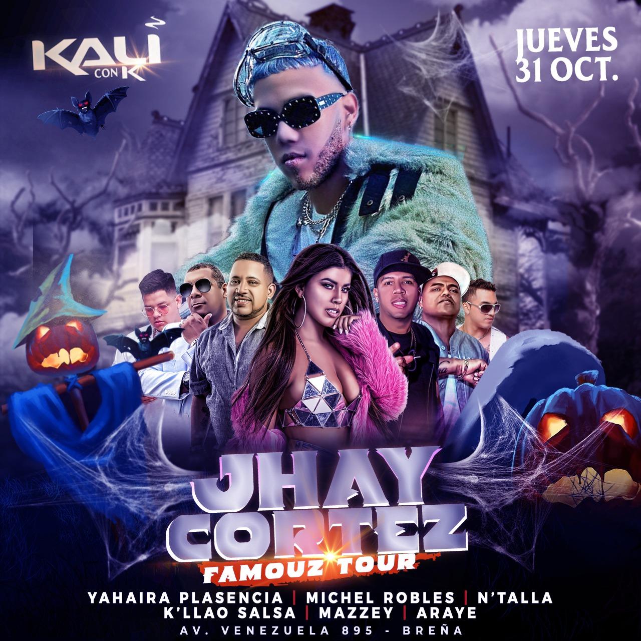 Jhay Cortez Kali Disco - Jhay Cortez Llegara a Perú para el Famouz Tour